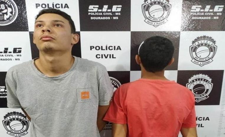 0f59ae841 Mateus e o comparsa, que no dia do crime ainda tinha 17 anos (Foto:  Divulgação)